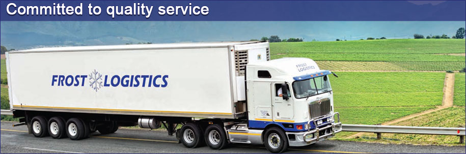 Frost Logistics Cool Trucks, refrigerated transporter, logistics, logistics solutions, South Africa Image 01
